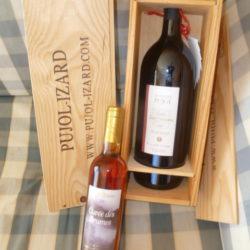 """Bouteille 150 cl vin minervois de 2009 """" Pujol-Izard"""""""