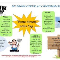 Viande de veau en direct producteur