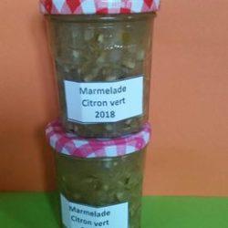 marmelade de citron vert