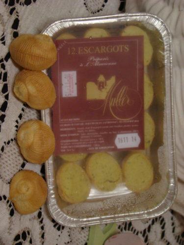 CROQUILLES D'ESCARGOTS SURGELES