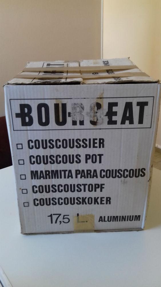 Couscoussier aluminium 17,5litres