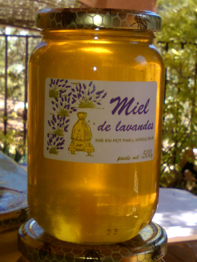 Miel de lavande et miel de bruyère