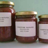 Confiture bananes, pâte de goyaviers pimentée