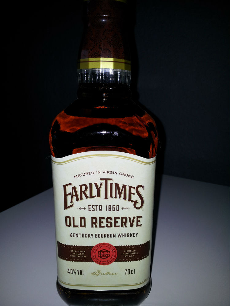 WHISKY EARLYTIMES OLD RESERVE 70 CL