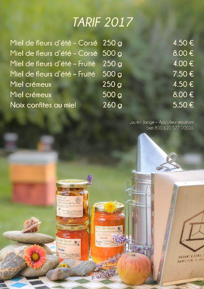 Miel d'apiculteur