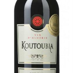 Koutoubia - vin rouge d'Algérie