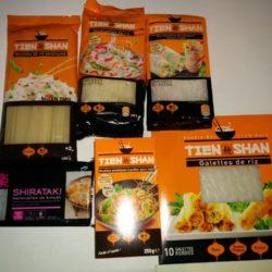 Vermicelles de riz, de haricot mungo et de Konjac + Nouilles asiatiques et galettes de riz