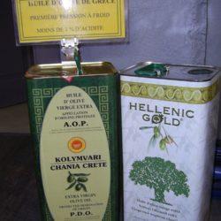 Huile d'olive Grece bidon de 5 l