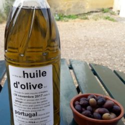 Huile d'olive artisanale