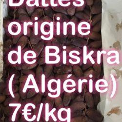 Dattes d'Algérie