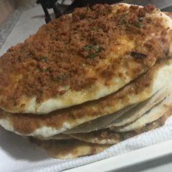 Lahmacun spécialité turc
