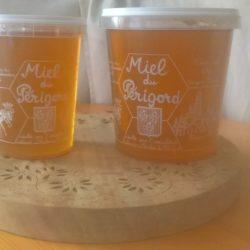 Miel d'acacia et miel de printemps