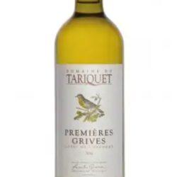 Vin blanc du domaine du Tariquet année 2013