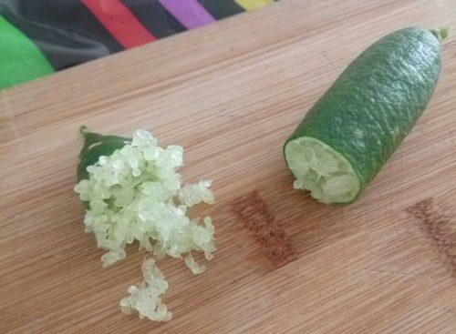 Citrons-caviar (Finger Lime)