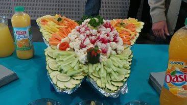 Papillon de légumes