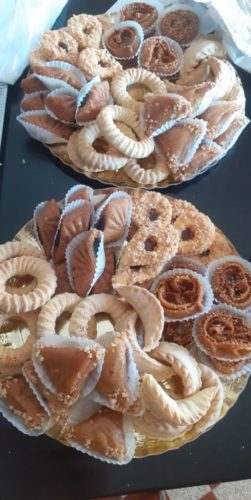 Gâteaux orientale