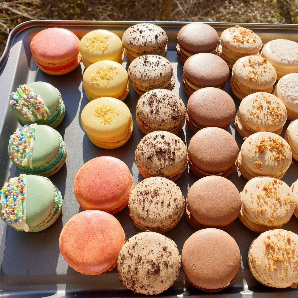 Macaron, Cupcake, pâtisserie